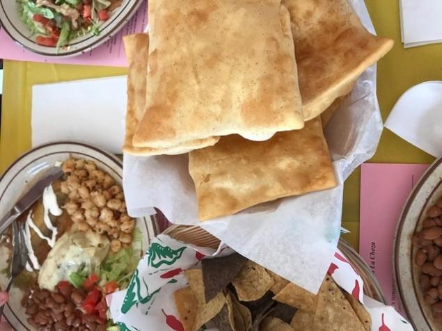 Some delicious Santa Fe cuisine