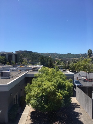 Hotel view from San Rafael