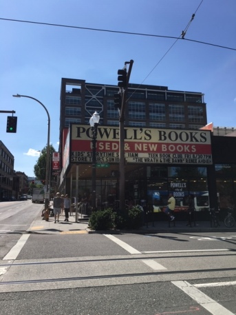 Outside of Powell's Books