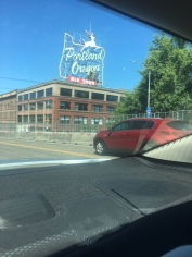 The infamous Portland sign